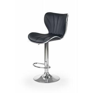 Barová židle Ivy5 černá