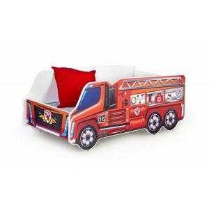 Dětská postel Fire Truck vícebarevná