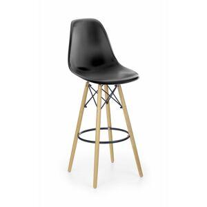 Barová židle Ivy7 černá