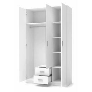 Šatní skříň Lima3 bílá