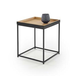 Konferenční stolek Yava přírodní dub/černý