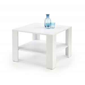 Konferenční stolek Kwadro Kwadrat bílý