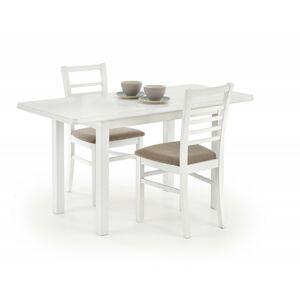 Rozkládací jídelní stůl Dinner bílý