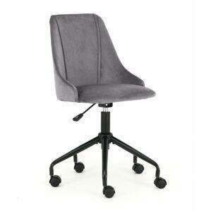 Kancelářská židle Broke tmavě šedá