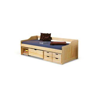 Dřevěná postel Maxima 90x200 borovice