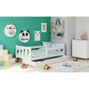 Dětská postel se zásuvkou Marietta bílá