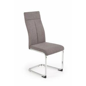 Jídelní židle Carolina tmavě šedá