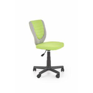 Dětská židle Byto zeleno/šedá