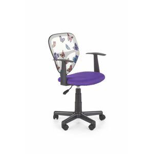 Dětská židle Spik fialová