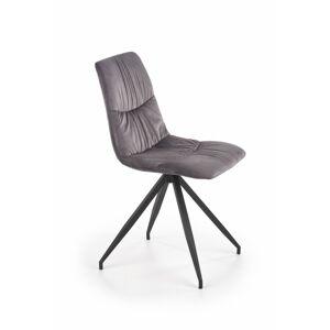 Designová židle Kasy šedá