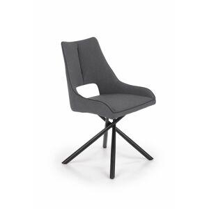 Designová židle Cretto šedá