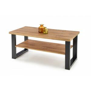 Konferenční stolek Mevon dub votan/černý