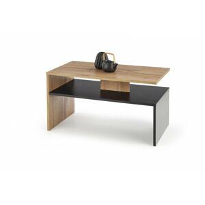 Konferenční stolek Sigma dub votan / černý