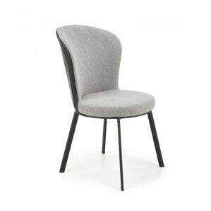 Jídelní židle Polo šedá/černá
