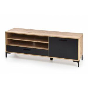 TV stolek Aven dub artisan/ černý
