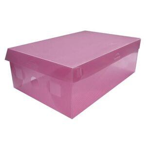 Krabice na boty S - růžová