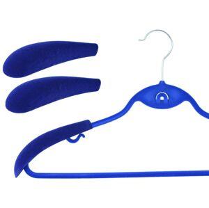 Nástavec na velurové ramínko modrý