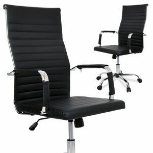 Kancelářská židle Santino černá