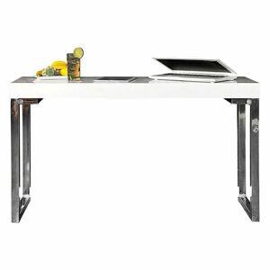 Psací stůl Ina 120x40 cm bílý