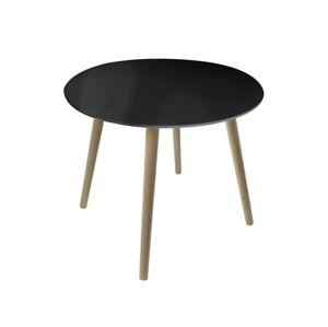 Konferenčný stolík Retro 60 × 50 cm čierny
