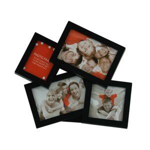 Fotorámček Joran 10 × 15 cm - čierny