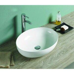 Keramické umývadlo na dosku MEXEN JOWITA  52x39 cm biele