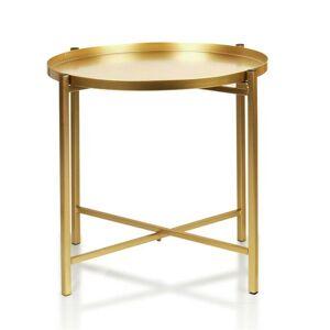 Konferenční stolek Lucas 40 cm zlatý