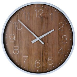 Nástěnné hodiny Meru hnědé
