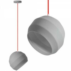 Stropní svítidlo APP382-1CP šedé