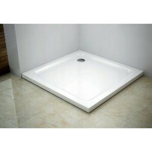 Sprchová vanička MEXEN SLIM 80x80 cm + sifón bílá