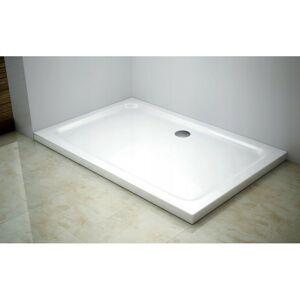Sprchová vanička MEXEN SLIM 90x80 cm + sifón bílá