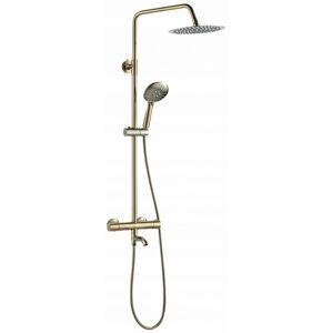 Sprchový set LUNGO zlatý