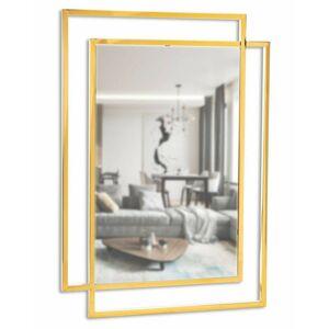 Zrcadlo Vido Gold 110x80 cm zlaté