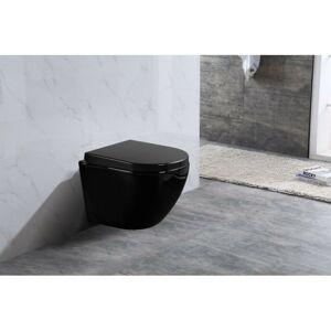 Závěsná WC mísa MEXEN LENA černá