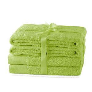 Súprava uterákov AmeliaHome Amary svetlozelená