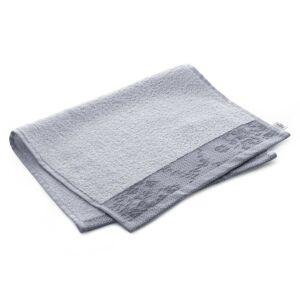 Bavlněný ručník AmeliaHome Crea světle šedý