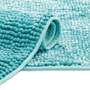 Koupelnový koberec Bati světle modrý
