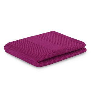Bavlněný ručník AmeliaHome Plano bordó