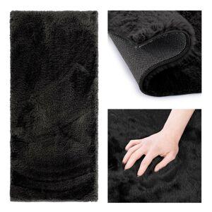 Kusový koberec AmeliaHome Lovika černý