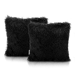 Povlaky na polštáře AmeliaHome Karvag černé