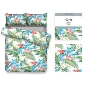 Bavlněné povlečení AmeliaHome Averi I květinové