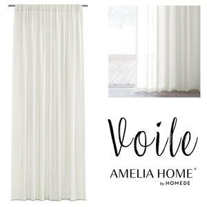 Záclona AmeliaHome Voile Liva II krémová