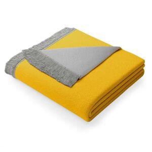 Deka AmeliaHome Franse šedá/žlutá
