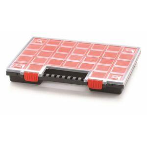 Organizér na nářadí 21 přihrádek Orif 399x303x50 červený