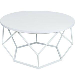 Konferenčný stolík DIAMENT biely