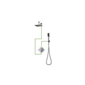 Sprchový set podomítkový OMNIRES HUDSON chromovaný SYS 24 X