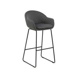 Barová židle Allia šedá