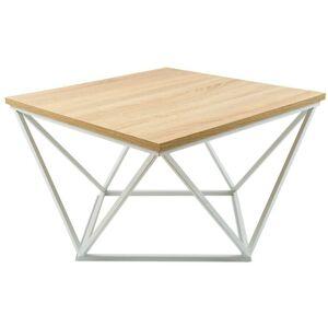 Konferenčný stôl Cured hnedo-biely