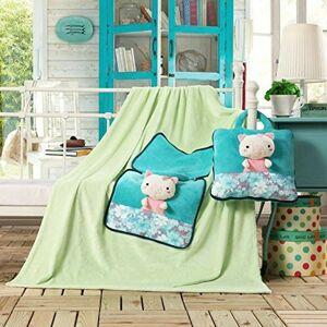 Dětská deka z mikrovlákna DecoKing Cute zelená
