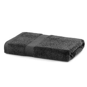 Bavlnený uterák DecoKing Mila 70 × 140 cm tmavosivý